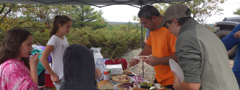 Pumpkin Pie Run - Lavant Lookout - Potluck